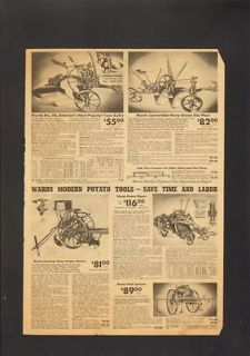 1937 Print Ad Americas Most Popular Type Sulky Horse Drawn Disc Plow
