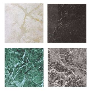 Marble Vinyl Floor Tile 40 Pcs Self Adhesive Indoor Flooring  Actual