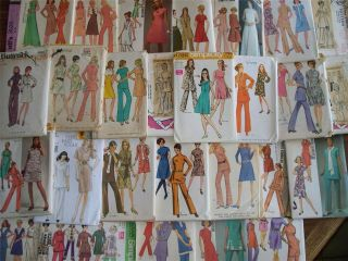 MISSES A LINE DRESS TUNIC TOP & PANTS PATTERN VARIETY STYLE & SIZE