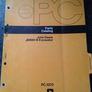 John Deere Parts Catalog Jd690 b Excavator Pc 1370