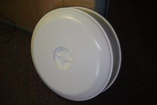 Diameter Molded Spare Tire Cover For RVs Trailers White For 14 Tire