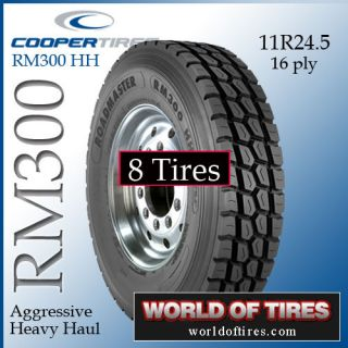 Tires Roadmaster RM300 11R24.5 16 ply semi truck tires 11r24.5 24.5