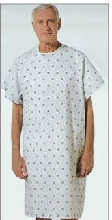 12 NEW HOSPITAL PATIENT GOWN MEDICAL EXAM GOWNS ECONOMY