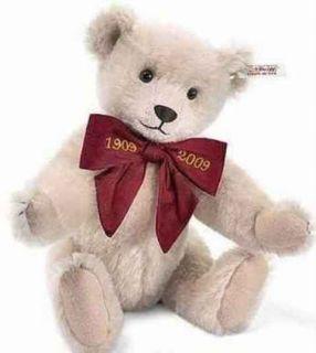 STEIFF Margaretes Rose 1909 Replica Teddy Bear EAN 038495 NWT Limited