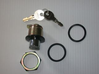 Push Button Lock for Truck caps and tonneau covers