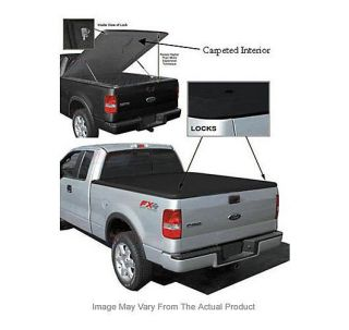Dure New Tonneau Cover Truck Bed Full Size Fiberglass Security Built