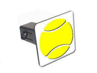 Tennis   1 1/4 inch (1.25) Trailer Hitch Cover Plug Insert