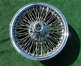 Chrome DAYTON WIRE WHEEL 16 inch 5 x 115 Rim Cadillac