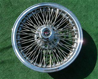 Chrome DAYTON WIRE WHEEL 16 inch 5 x 115 Rim Cadillac