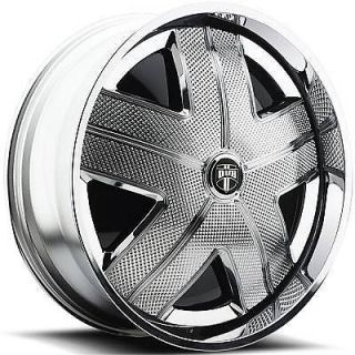 32 DUB SPIN HAM Wheel SET Chrome Spinner 32x10 RWD 5 & 6 LUG RIMS