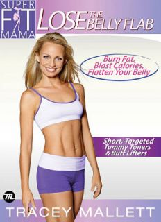 Tracey Mallet Super Fit Mama   Lose the Belly Flab DVD, 2009