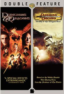 Dungeons Dragons Dungeons Dragons Wrath of the Dragon God DVD, 2009