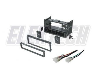 TOYOTA UNIVERSAL 1985 2004 RADIO DASH INSTALL KIT SINGLE DIN POCKET