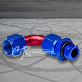 12AN AN12 12 AN 90° SWIVEL OIL/FUEL/GAS/FLUID LINE HOSE END FITTING