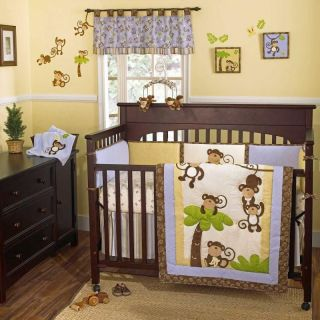 Monkey Time Baby Crib Bedding by CoCo & company