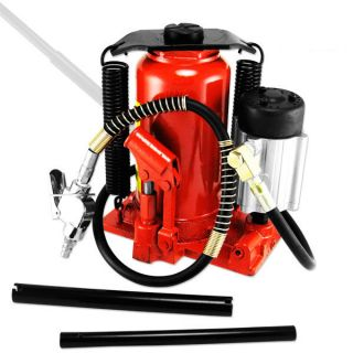 Tooluxe 20 Ton Low Profile Air Hydraulic Bottle Jack