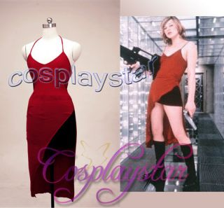 Resident Evil cosplay costume Alice from the first Resident Evil film
