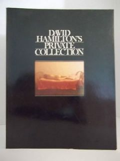 DAVID HAMILTON PRIVATE COLLECTION PHOTOGRAPH
