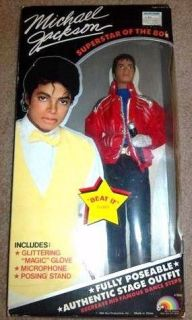 Vintage Michael Jackson Beat it Doll NEW in Box   Collectable