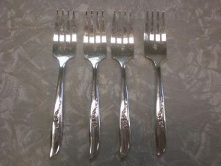 JENNIFER aka ADA Salad Forks Wm. A. Rogers Sectional Oneida ltd