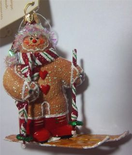 Patricia Breen Design Bejeweled Gstaad Gingerboy 2009 Christmas