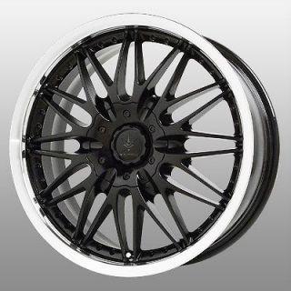 17 inch Verde Regency Black Wheels Rims 5x4.5 Town & Country Avenger