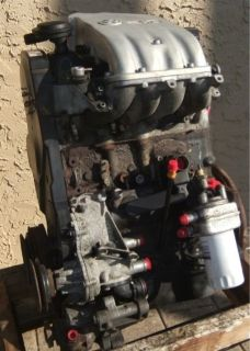 ENGINE MOTOR VW CABRIO GOLF JETTA 96 02 2.0L ABA