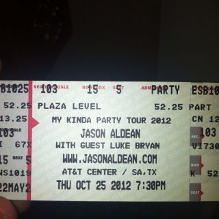 Jason Aldean Tickets San Antonio Texas