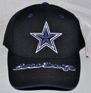 Dallas Cowboys NFL NWT Authentic Black Adjustable Hat/Cap 3D American