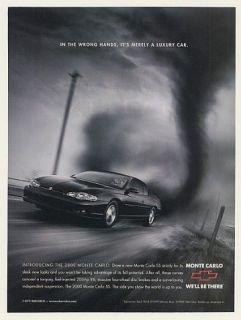 2000 Chevy Monte Carlo Taz Tasmanian Devil Tornado Ad
