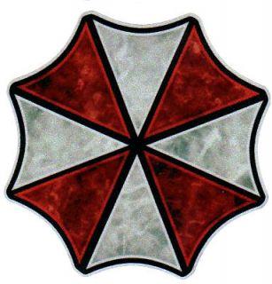 Logo #1 REFLECTIVE Vinyl Decal Resident Evil Sticker CUSTOM SIZES