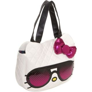 New Loungefly Hello Kitty Pink Sunglasses Face Shoulder Bag Mimmy
