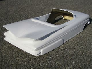 1959 Chevy Impala pedal car hot rod stroller 1/4 scale fiberglass body