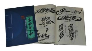 Chinese Language Tattoo Flash Book Art A4   (China Tribal/Lettering)