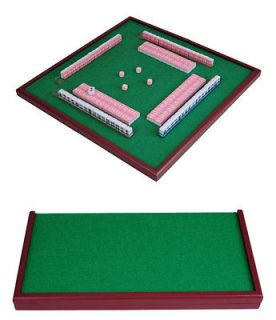 Mini size New hello kitty Chinese Mahjong Game travel table set pink