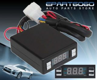 LED DIGITAL DISPLAY PROGRAMMABLE BOX FOR TURBO/NON TURBO TIMER
