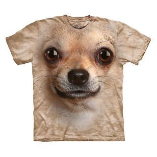 MOUNTAIN CHIHUAHUA FACE SIZE LARGE CUTE MEXICAN PUPPY DOG PET T SHIRT