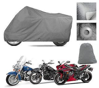 HEAVY DUTY FLEECE LINED Motorcycle Cover Moto Guzzi Norge GT8V