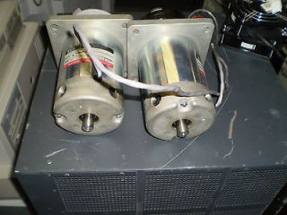 Electro Craft E722 Permanent Magnet Motor   Great Working Condition
