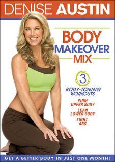 Denise Austin Body Makeover Mix DVD, 2009