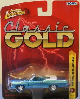 NEW JL Forever S24 Blue 1969 Chevy Impala Convertible 164