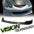 02 04 Acura RSX DC5 JDM Black CWS Style PU Front Bumper Lip Spoiler