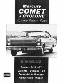 Mercury Comet and Cyclone Limited Edition Extra 1960 1975 by R. M