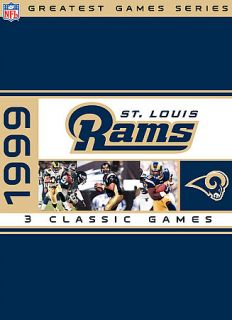 NFL Greatest Games Series St. Louis Rams 1999 Playoffs DVD, 2007, 3
