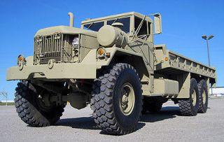 M814 AM GENERAL 5 TON CARGO TRUCK 6x6 Military Diesel