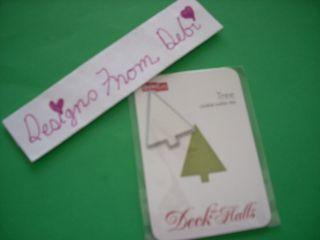 QuicKutz Dollar Bin Cookie Cutter Die TREE Christmas