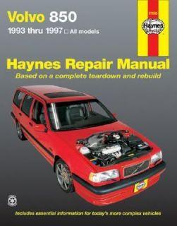 Volvo 850, 1993 1997 by Haynes and Ed Scott 2000, Paperback