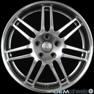 BLACK RS4 STYLE WHEELS FITS AUDI A5 S5 RS5 B8 8T COUPE CABRIOLET RIMS