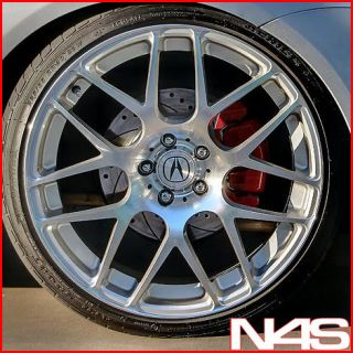 20 ACURA TL AVANT GARDE M310 CONCAVE STAGGERED SILVER WHEELS RIMS