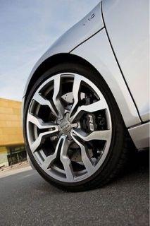 18 Audi R8 Style Wheels Gunmetal Machine Finish Rims A3 2.0T 3.2